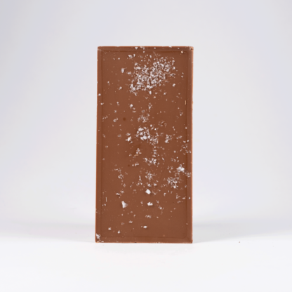 Cornish Sea Salt & Roast Hazelnut Milk Chocolate Bar